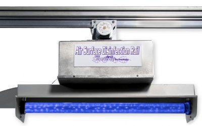 Sterilray Air Surface Disinfection Rail (ASDR)